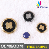 Garment accessories market in guangdong zinc alloy fashion button for trousers