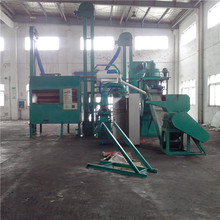 electronic waste scrap aluminum plastic recycling machine