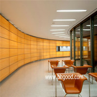 interior wall decoration materials resin panel for office partition