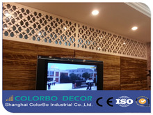 theme parks innovative decorative board interior 3D carved decorative wall panels