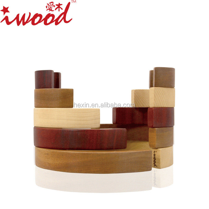 2015 new toys Tai Chi design children educational toys, wooden blocks