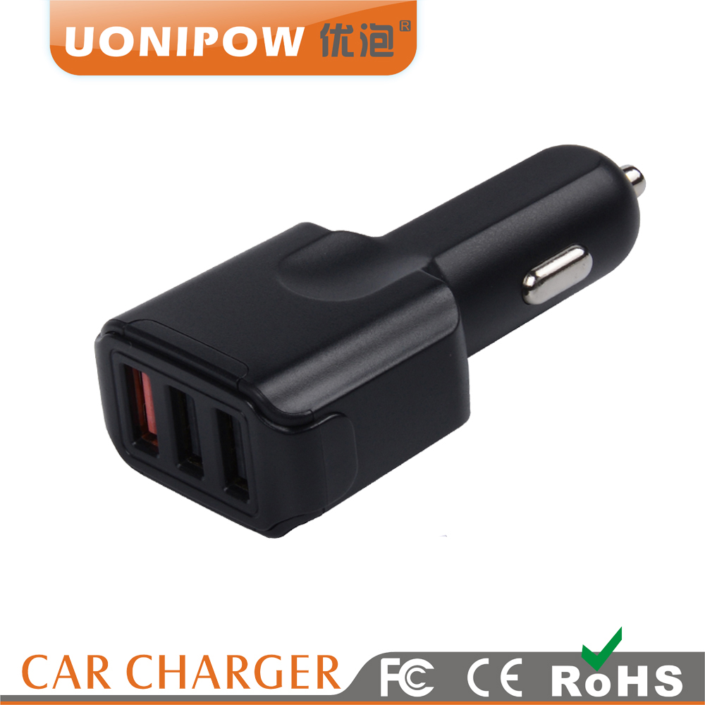Quick Charge 3.0 3 USB Car Charger For iPhone For iPad