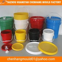 20 litre plastic paint bucket moulding