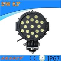 Super Bright 51w Led Driving Lights