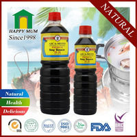 Bottle packing and raw processing type QS soy sauce