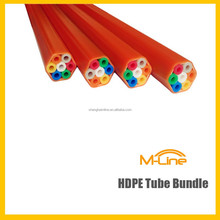 High Quality 7-ways Tube Bundle 7/3.5mm Direct Buried HDPE Micro Duct