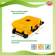 Tricases china supplier manufacture durable IP67 PP plastic case waterproof shockproof eva tool case M2500