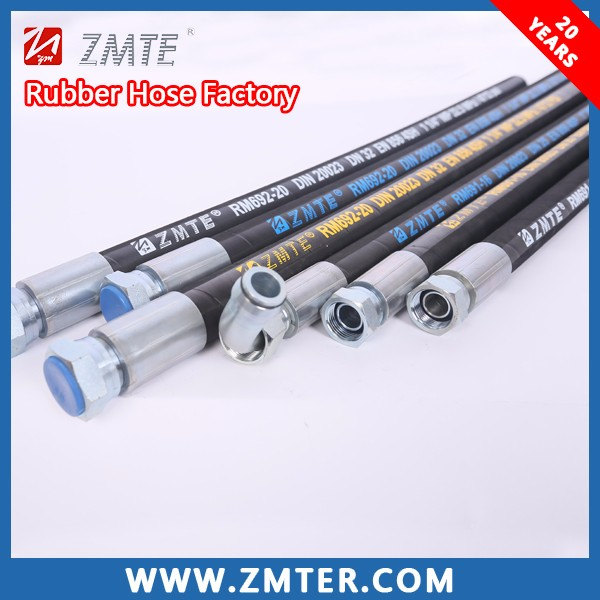 Flexible Rubber Industrial Hoses