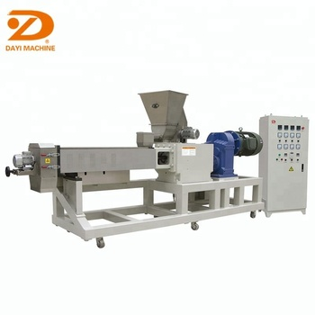 Dayi grain extruder corn puffed snacks extruding machine rice core filling chocolate puff extruder machine