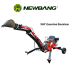 ATV gasoline backhoe with CE certificate