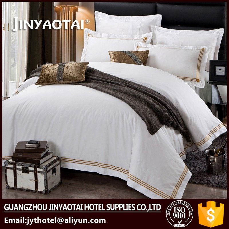 Cotton Hotel Embroidery Bed Cover Wholesale Comforter World Bedding Set