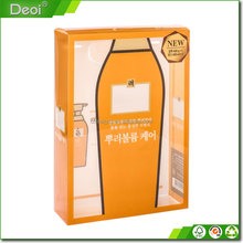 Custom Clear A3 A4 Size PVC Hardcover Plastic Archive Boxes