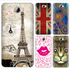 tpu water transfer customize design cell phone case for huawei y5 ii cun u29