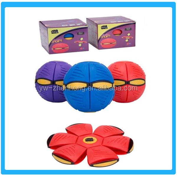 Promotional Children Toy Products Plastic Frisbee Ball Magic Children Flying Ball