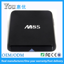 Huiyou Amlogic s812 2/8G M8S tv box ,download user manual for android m8s tv box
