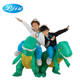2018 Newest design animal riding cute realistic dinosaur t rex inflatable costume