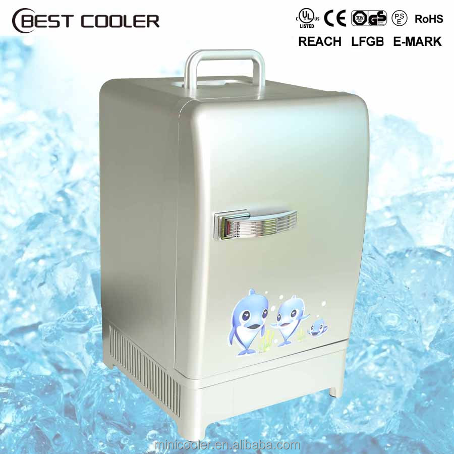 2016 Hot sale CE 12 liter portable plastic <strong>electricity</strong> thermoelectric mini fridge