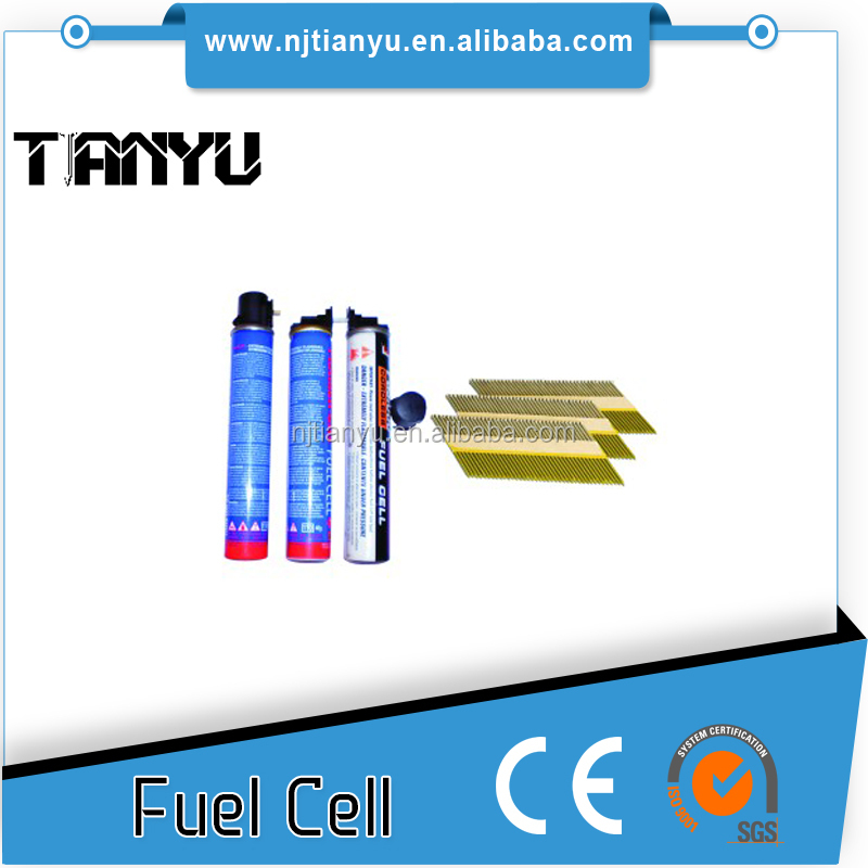 High pressure framing gas tools nailer gas fuel cell