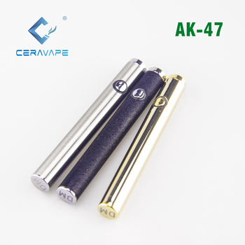top quality 2.6v-4.0v Variable voltage Preheat function pen vape battery 350mAh rechargeable