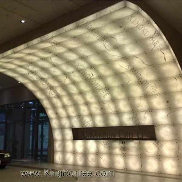 Translucent Resin Panels : Translucent decorative resin panels transparent roof view