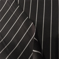 Woven Fabric Gabardine Striped Fabric/Twill Fabric For Uniforms/Suits/Trousers