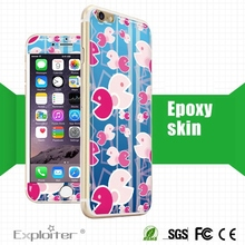 China Top Quality Beautiful Decoration Cell Phone Skin Manufacturer
