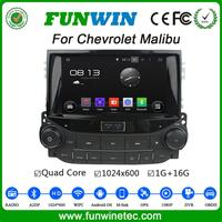 Funwin WIFI 3G car multimedia radio gps navigation system for chevrolet malibu dvd player android