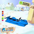 Cool ! Kids double plastic snow car