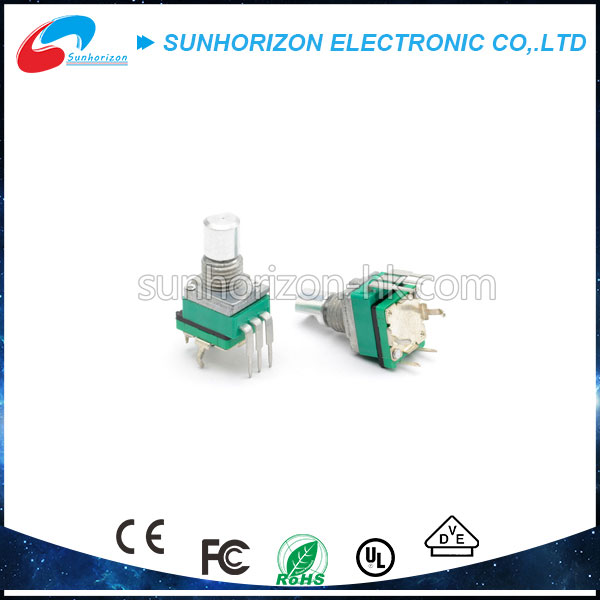 Metal shaft dustproof 10k variable resistor rotary potentiometer with switch