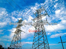 500kv electric power transmission line angle steel tower