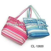 2012 Best seller canvas beach bag,leisure bag
