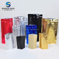 12 oz aluminum foil block bottom coffee bag packaging