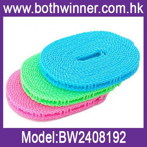 Hot sale twist polyester rope ,h0tfj ring spun clothesline rope for sale