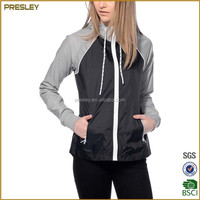 2017 New OEM Custom Fashion European Style Running Down Ladys Most Popular Hoody Jackets Outdoors For Spring And Summer