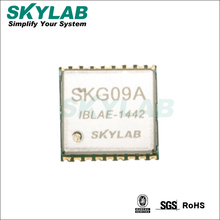 Skylab smallest gps receiver module SKG09A 10.1 x 9.7 x 2.2mm small dimension MT3339 chipset AIC/EPO/EASY