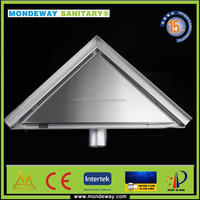 Mondeway Sanitary for stainless steel floor trap drains linear shower drain /swimming pool stainless steel grating/plastic SET