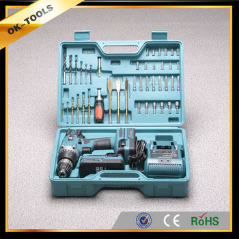 new 2014 manufacturer China wholesale alibaba supplier 18V Li-ion dewalt cordless drill of power tool sets tool box