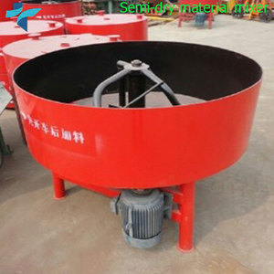 JQ350 Electric Manual Pan Cement Concrete Mixture Machine Price