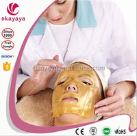 Anti-Wrinkle gold collagen crystal facial mask golden collagen mask