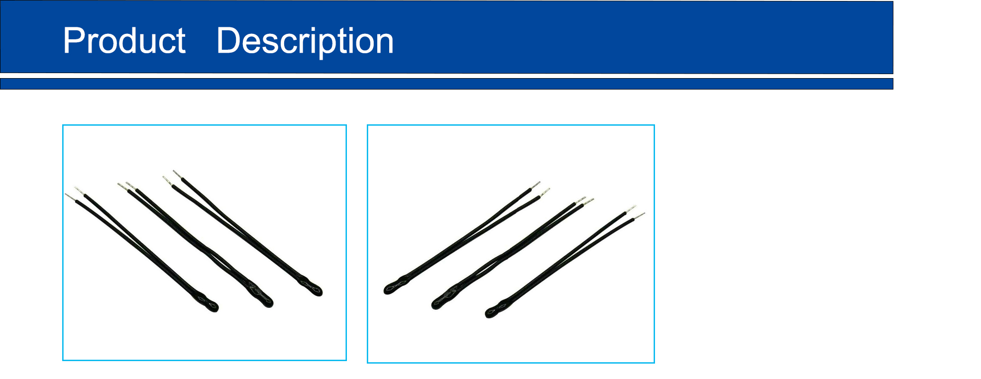 10k 1% 3470 ntc temperature senor high accuracy black epoxy thermistor for high temperature measurement