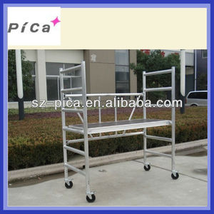 Construction used Aluminum mini Scaffolding