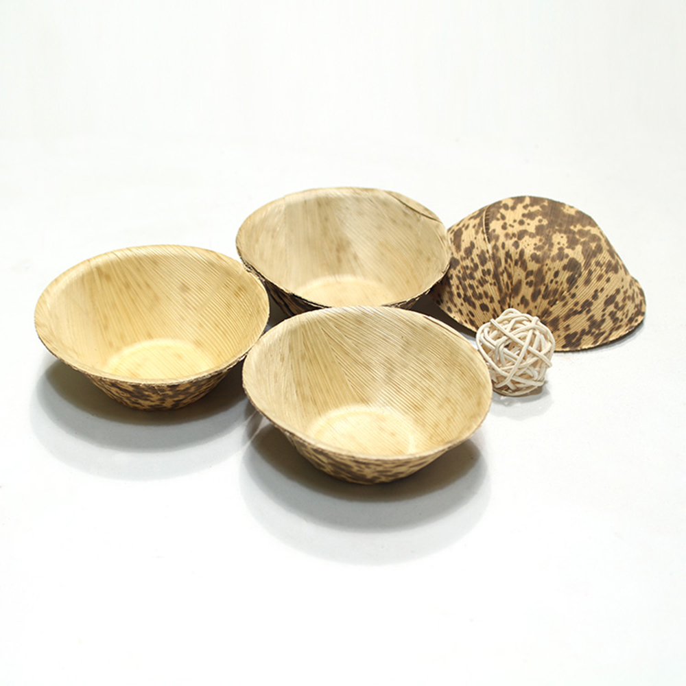eco-friendly bamboo boat plate for kitchen food use