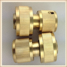 manufacturers cnc machining part custom-made service with good quality and big quantity OEM custom brass water connection fitti