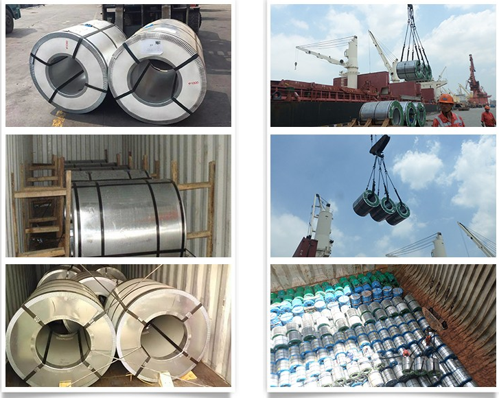 Good quality Low Price A653 A792 AZ150 Z270 G90 prepainted galvalume steel coil