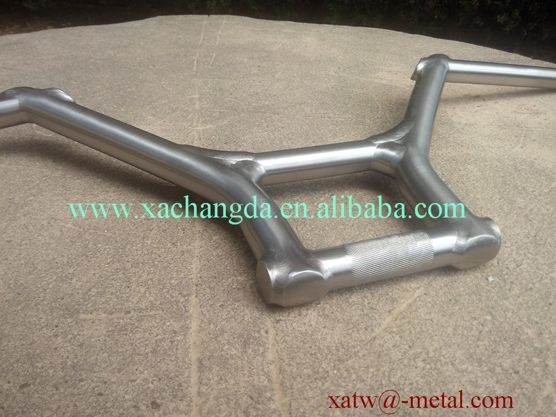 xacd made BMX handle bar Ti BMX handle bar wholesale custom Titanium BMX bike handle bar