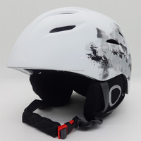 China beautiful solid color ski helmet with CE approved