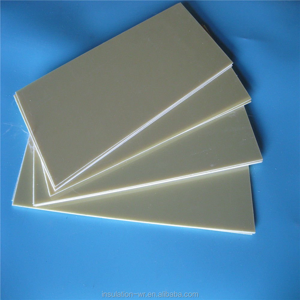 High density Electronic accessories G10 G11 sheet fr-4 without copper foil insulation sheet