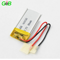 Rechargeable lithium ion polymer battery 401030 3.7v 80mah small battery for wearable devices