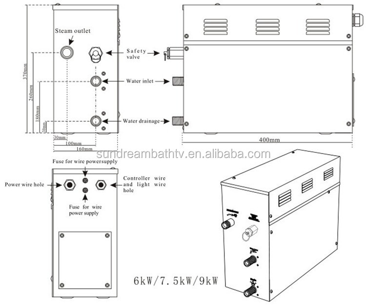 GS08A Electric Steam Generator