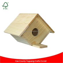 Customise Natural Color WildBird Care Pull-Out Cedar Bird House